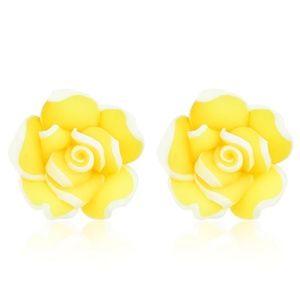 flower Petals studded studs earrings
